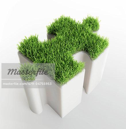 Environmental solution, conceptual computer artwork.