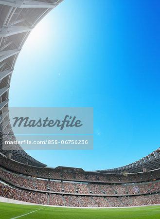 Roof Of Sports Stadium