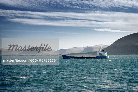 Tanker Ship, Hvalfjordur, Iceland