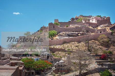 Kumbhalgarh Fort, Rajsmand District, Rajasthan, India