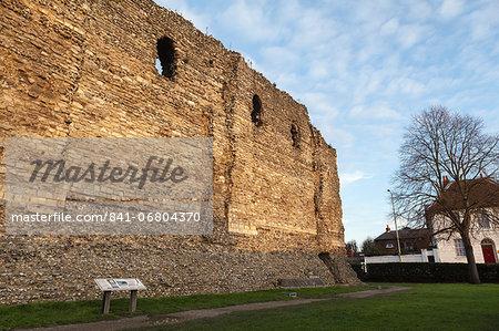 Canterbury Castle, Canterbury, Kent, England, United Kingdom, Europe