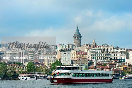 Galata Tower, Istanbul, Turkey, Europe