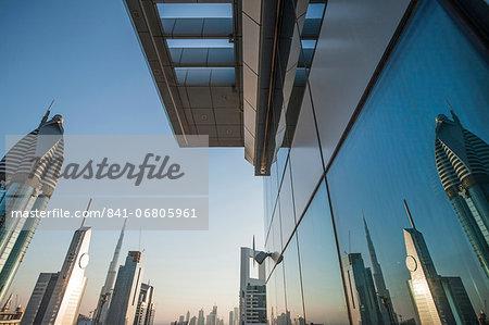 Skyscraper, Dubai, United Arab Emirates, Middle East