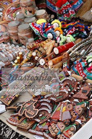 Local souvenir at the market, Purmamarca, Quebrada de Humahuaca, Jujuy Province, Argentina, South America