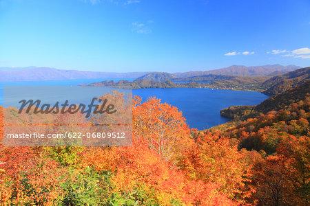 Lake Towada from Shimei-Teiten Observatory, Akita prefecture