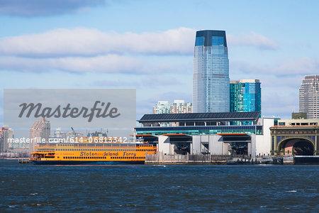 Staten Island ferry, New York City, USA