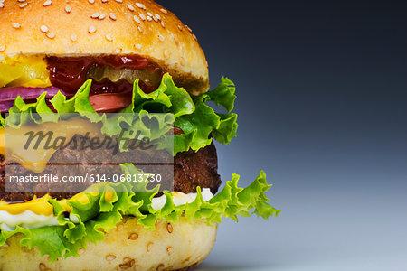 Burger, cropped