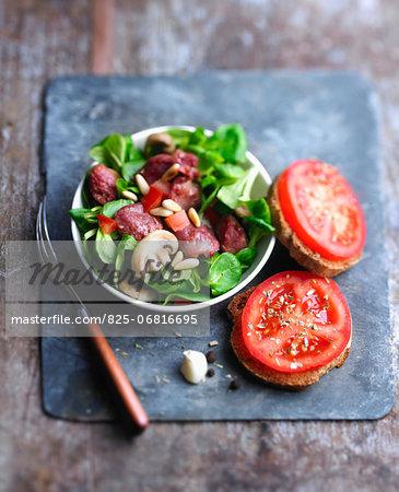 Perigordine  salad