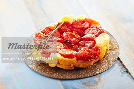 Tomato tart tatin