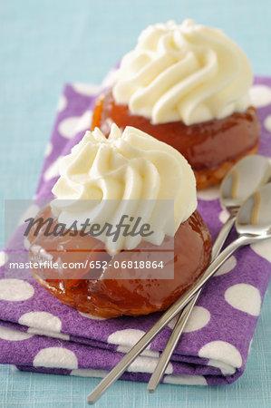 Mini apple tart tatins