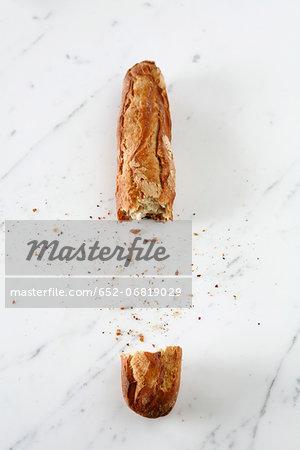 Broken baguette