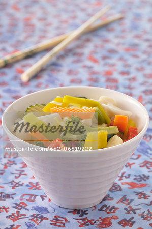 Chop-suey vegetables