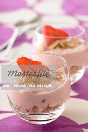 Strawberry Bavarian Verrines