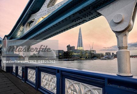 Europe, England, London, Tower Bridge