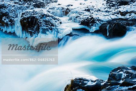 Europe, Iceland, Godafoss waterfall
