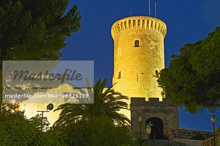 Castillo de Belver, Palma de Mallorca, Majorca, Balearics, Spain