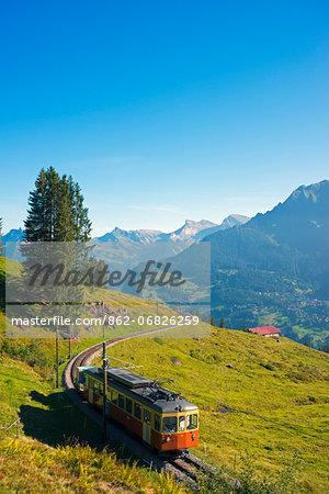 Europe, Swiss Alps, Switzerland, Swiss Alps Jungfrau-Aletsch, Unesco World Heritage site, Bernese Oberland, Murren