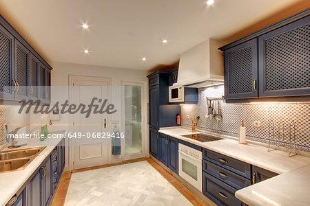 Luxury kitchen in wealthy home