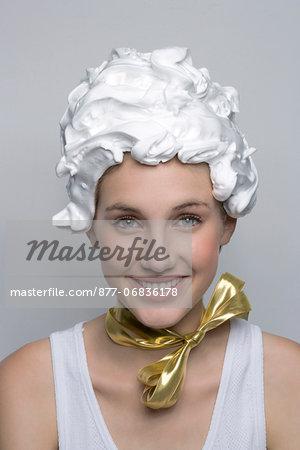 Woman, beauty, hair