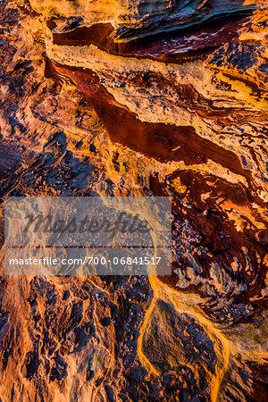 Rock Formations and Land Patterns, Red Bluff, Kalbarri, Western Australia, Australia