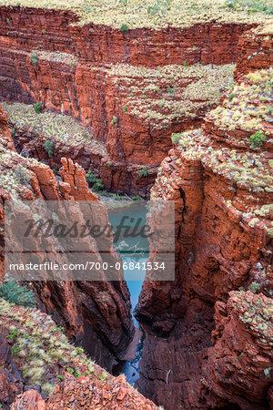 Oxers Lookout, Karijini National Park, The Pilbara, Western Australia, Australia