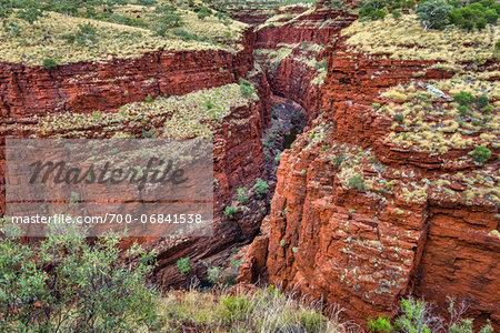 Oxer Lookout, Karijini National Park, The Pilbara, Western Australia, Australia