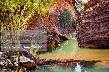 Hamersley Gorge, The Pilbara, Western Australia, Australia