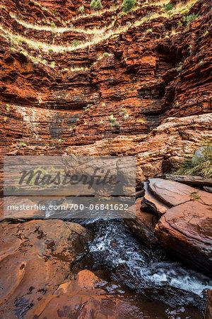 The Amphitheatre, Hancock Gorge, Karijini National Park, The Pilbara, Western Australia, Australia