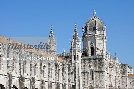 Jeronimos Monastery, UNESCO World Heritage Site, Belem, Lisbon, Portugal