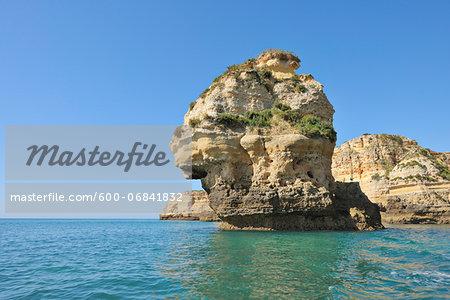 Rock Formations between Armacao de Pera and Portimao, Benagil, Lagoa, Portugal