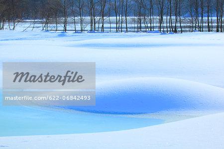 Snowfield in Fukushima Prefecture