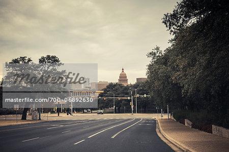 View of downtown Austin, Texas, USA