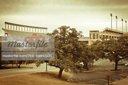 Darrell K Royal-Texas Memorial Stadium, Austin, Texas, USA