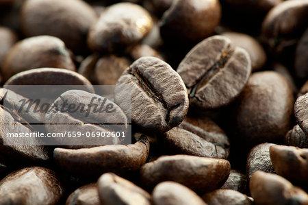 Espresso beans (close up)