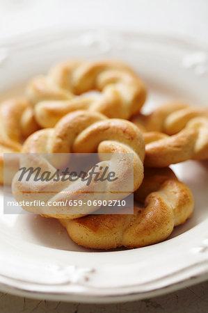 'Curly' (wreath) cookies