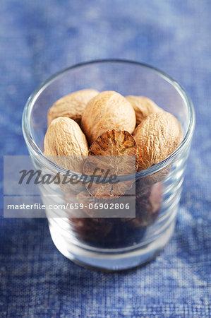 Nutmegs in a jar