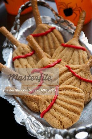 Witch Broom Cookies