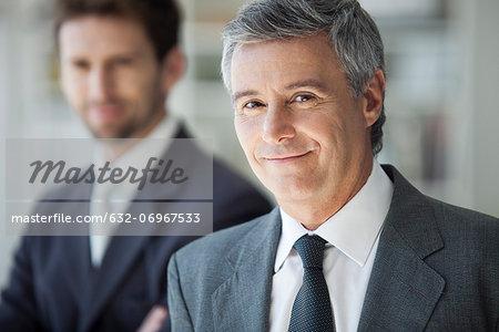 Mature business man, portrait