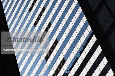 Detail of skyscraper in New York City, USA