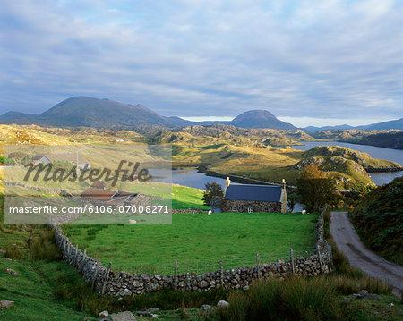 Loch Inchard, Sutherland, Scotland