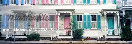 Historic homes, Savannah, Georgia