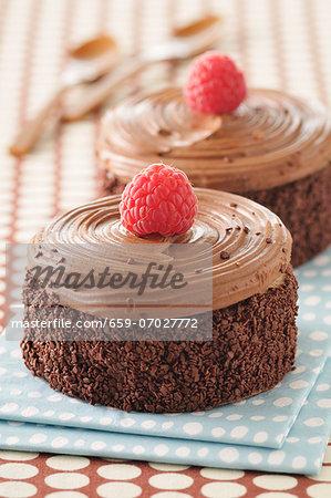 Mocha and chocolate dessert