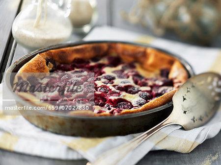 Clafoutis (cherry bake, France)
