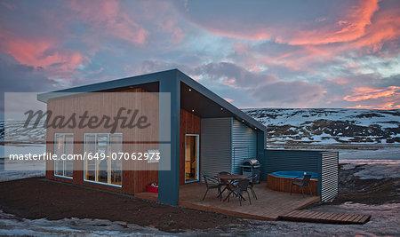 Chalet, Laugar, Iceland
