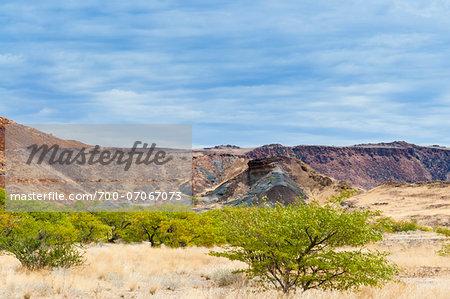 Burnt Mountain, Damaraland, Kunene Region, Namibia, Africa