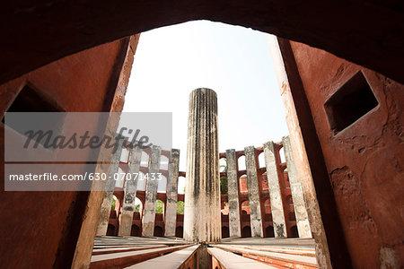 Interiors of an observatory, Jantar Mantar, New Delhi, Delhi, India