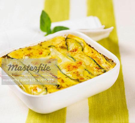 Zucchini lasagnes