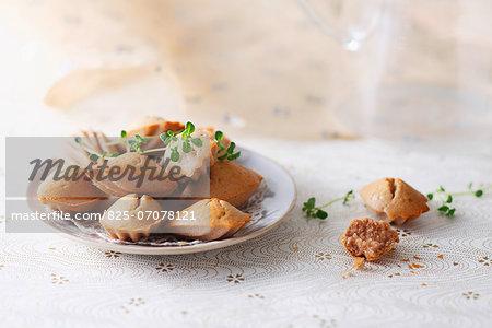 Foie gras Madeleines
