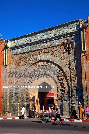 Bab Agnaou, UNESCO World Heritage Site, Marrakech, Morocco, North Africa, Africa