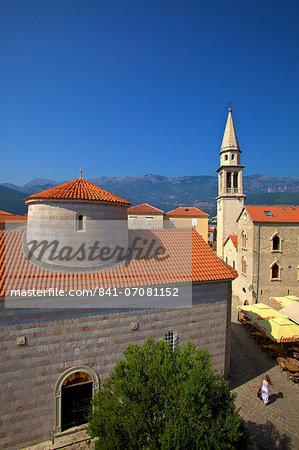 Budva Old Town, Budva, Montenegro, Europe